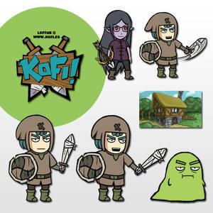 KOFI personajes