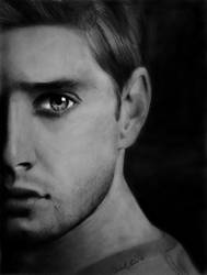 Dean Winchester- Jensen Ackles by IsabelIntangible