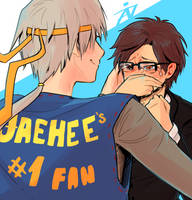 jaehee's nr1 fan by zetina