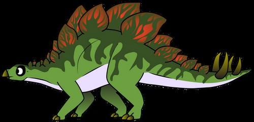 Stegosaurus by rainbowarmas