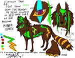 My OC Islack by darkwolfglow65