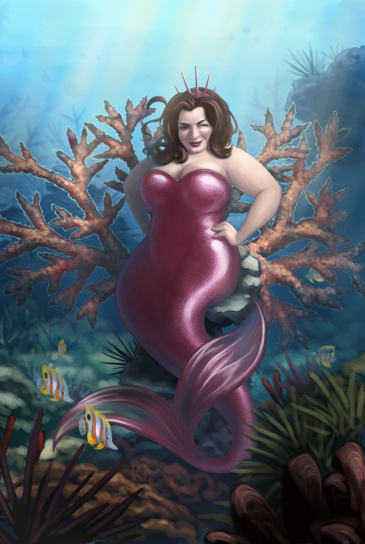 The Mermaid Queen by Petrichora
