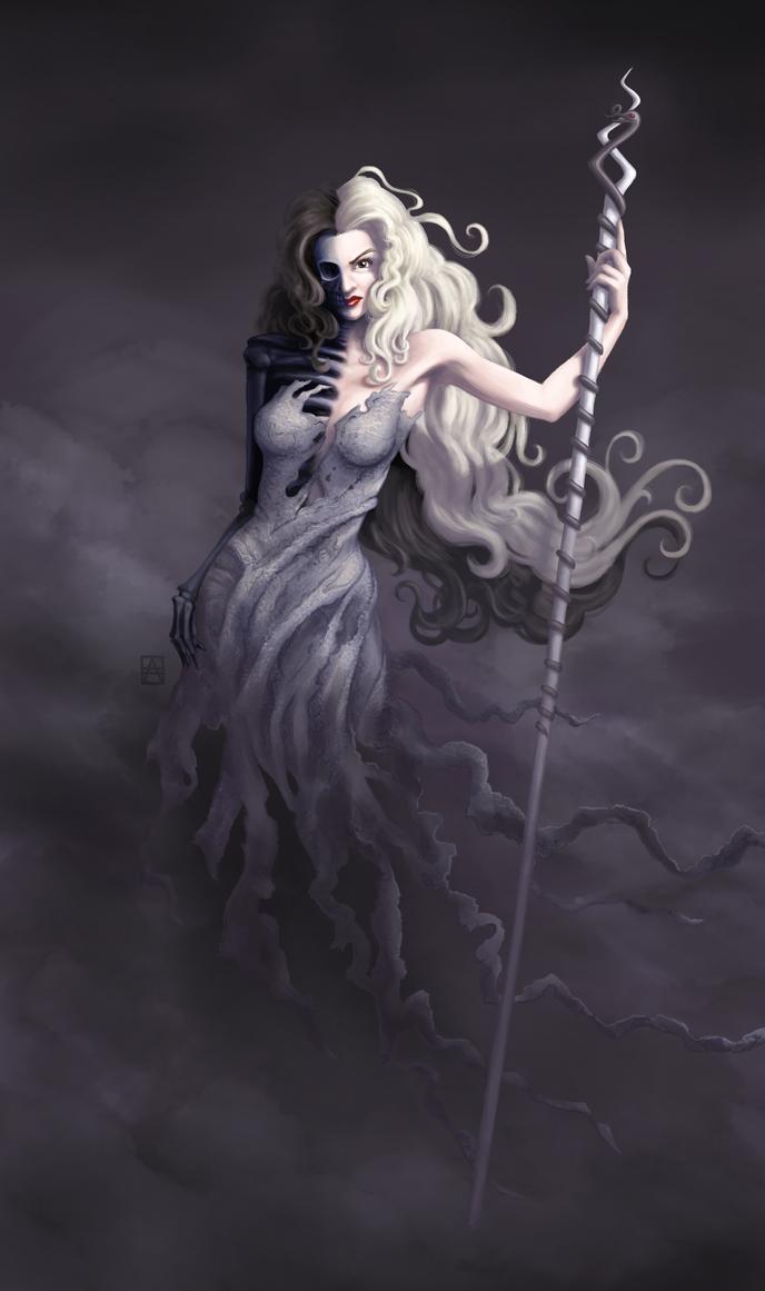 The Dark Gaze of Hel by Petrichora