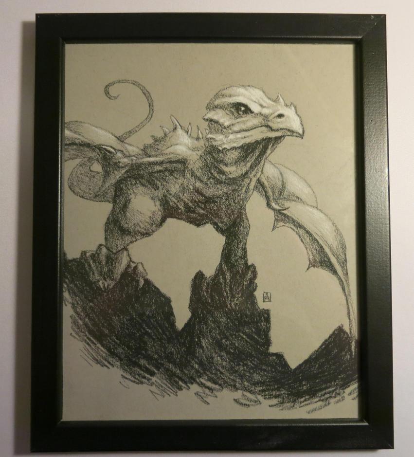 Fledgling Dragon by Petrichora