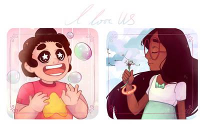 I love US by TrololhAnime
