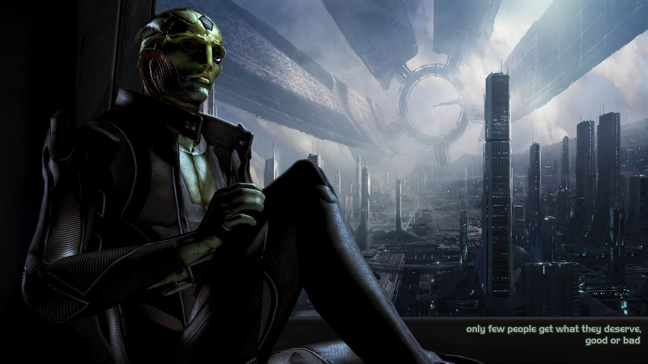 Thane Krios by DragonConcept