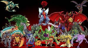 Godzilla-NEO Mutants