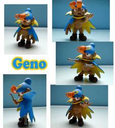 Geno Sculpture: Collage by ClayPita