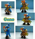 Geno Sculpture: Collage