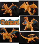 Charizard Sculpture: Collage