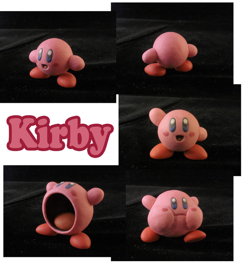 Kirby Sculpture: Collage by ClayPita