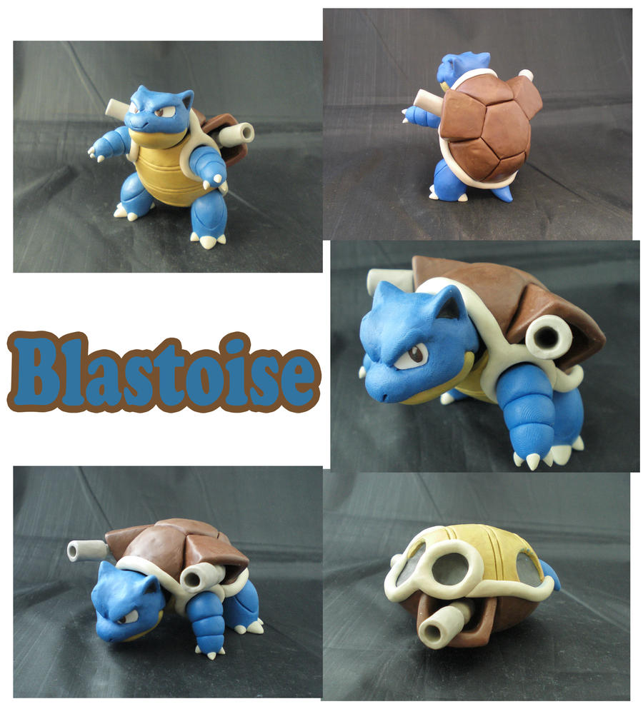 Weekly Sculpture: Blastoise by ClayPita