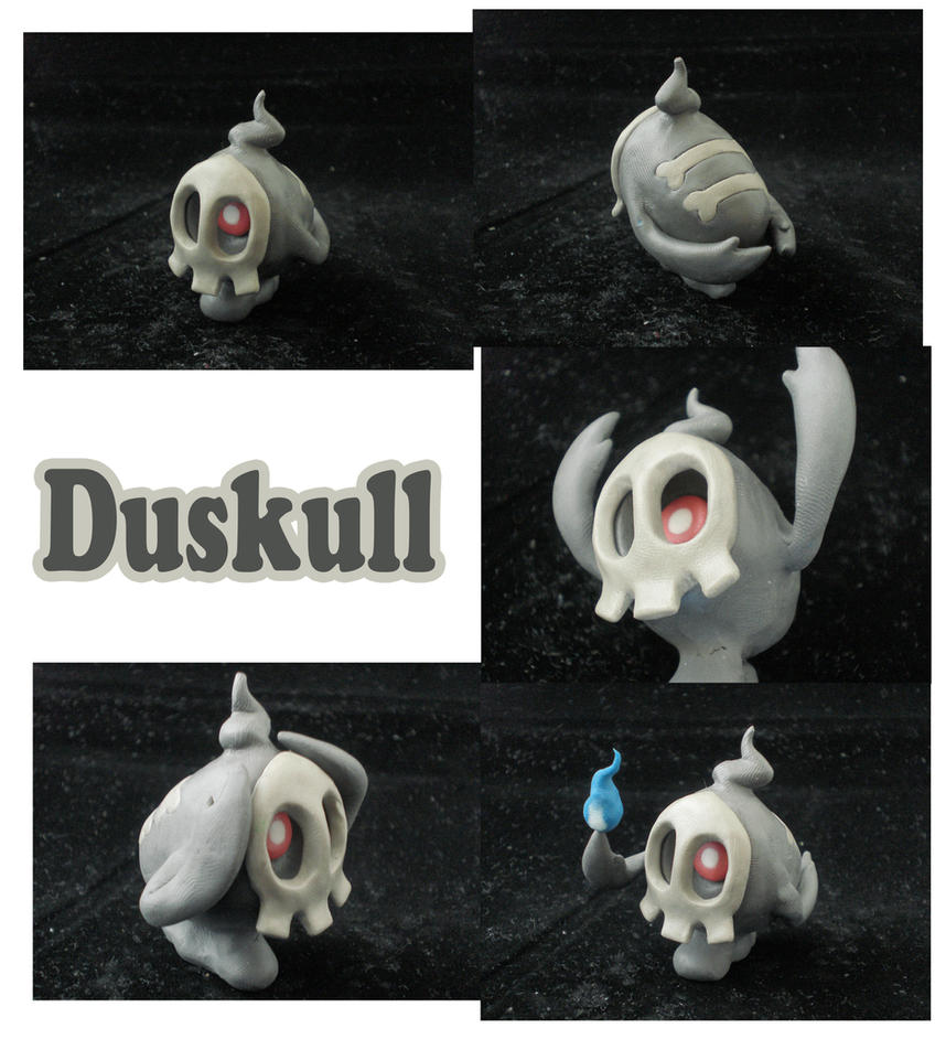 Weekly Sculpture: Duskull by ClayPita