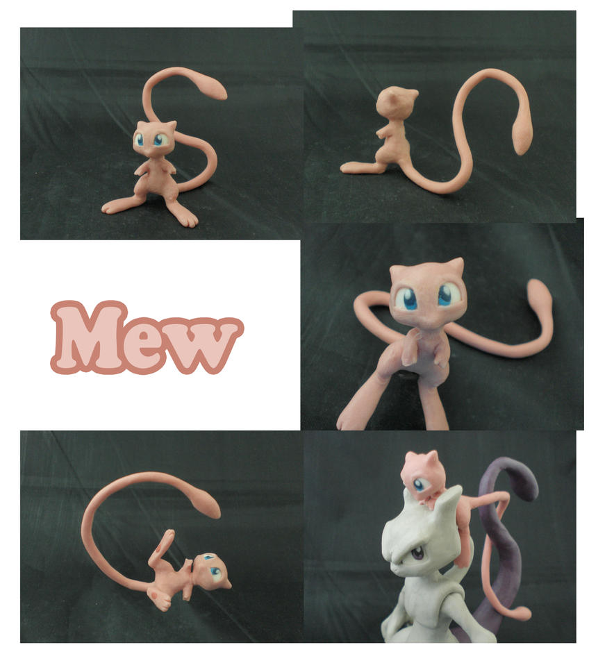 Weekly Sculpture: Mew by ClayPita