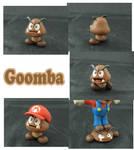 Weekly Sculpture: Goomba