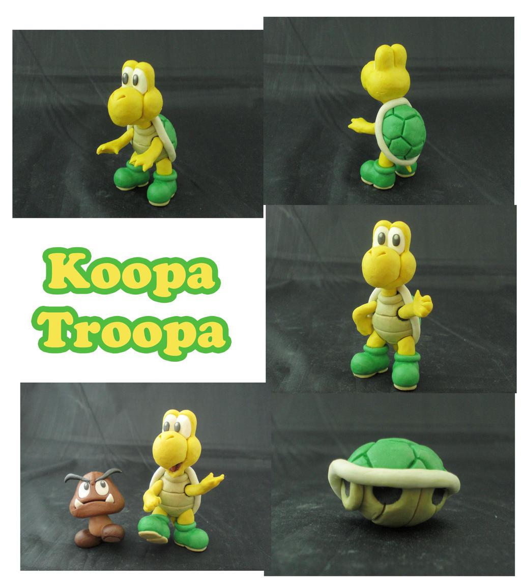 Weekly Sculpture: Koopa Troopa by ClayPita