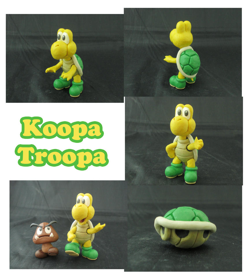 Weekly Sculpture: Koopa Troopa by ClayPita