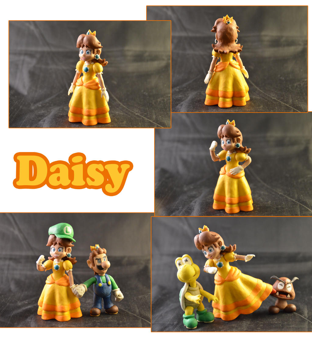 Weekly Sculpture: Daisy by ClayPita