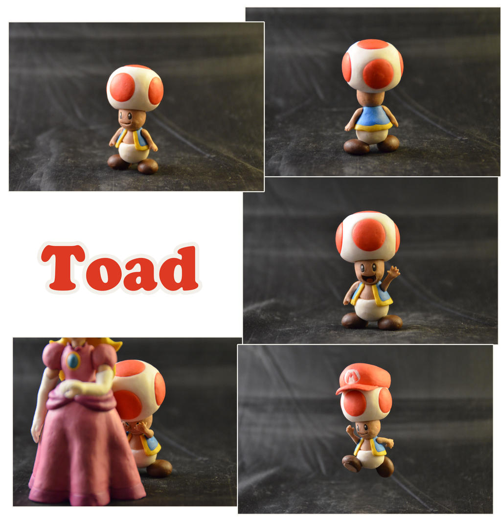 Weekly Sculpture: Toad by ClayPita