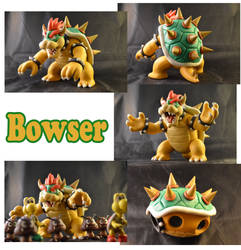 Weekly Sculpture: Bowser by ClayPita