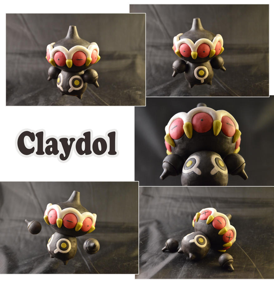Weekly Sculpture: Claydol by ClayPita
