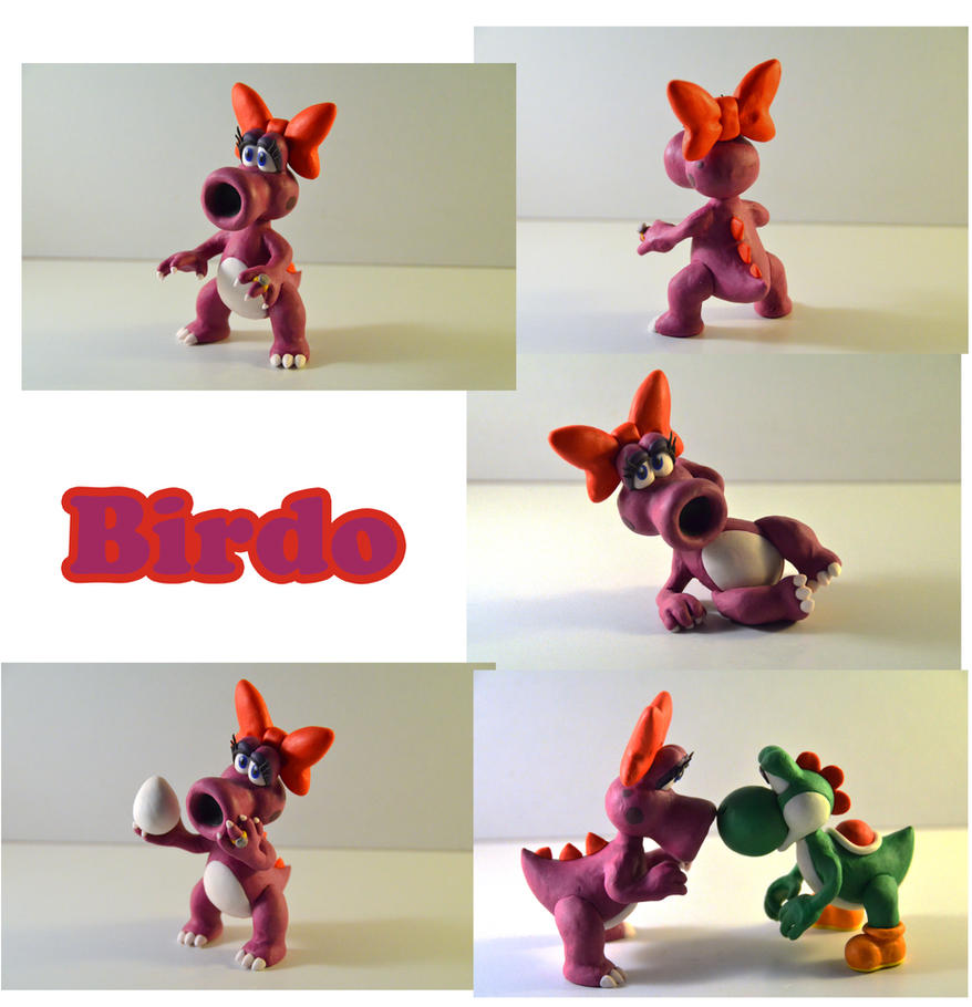 Weekly Sculpture: Birdo by ClayPita