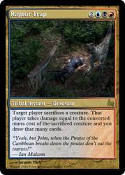 JP MTG- Raptor Trap