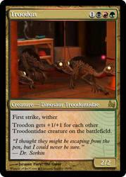 JP MTG- Troodon