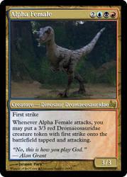 JP MTG- Alpha Female by LordSethD