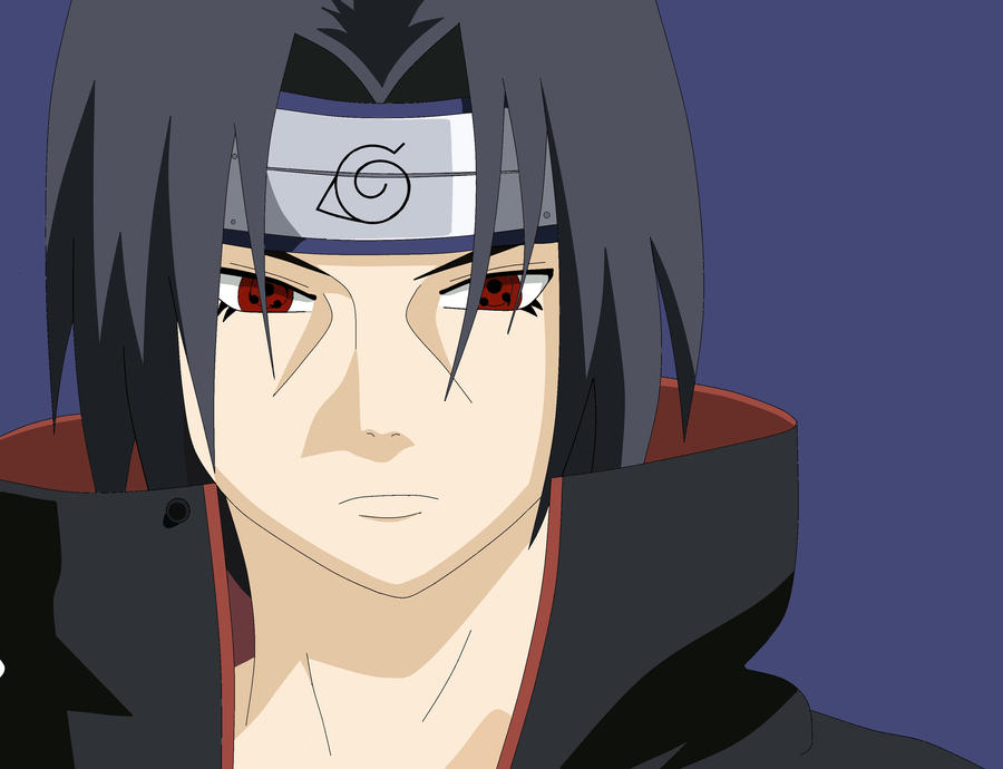 Itachi -Colored- by BakaFerSure