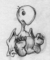 irving doodle - the sandman by cozmonaut