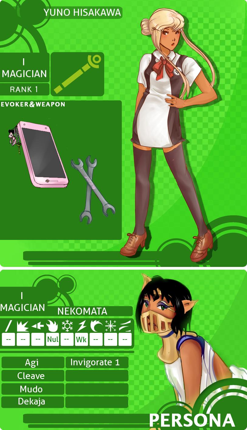 MM: Yuno Hisakawa by sconesandpancakes