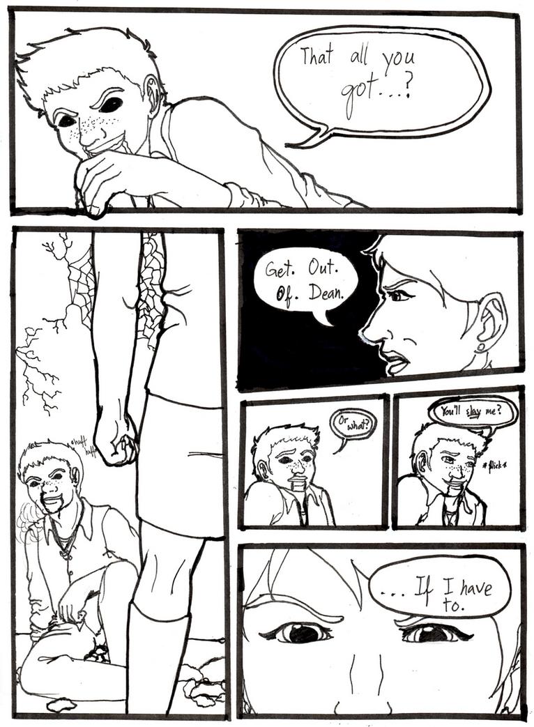 Buffy vs Demon!Dean by DarkestElemental616
