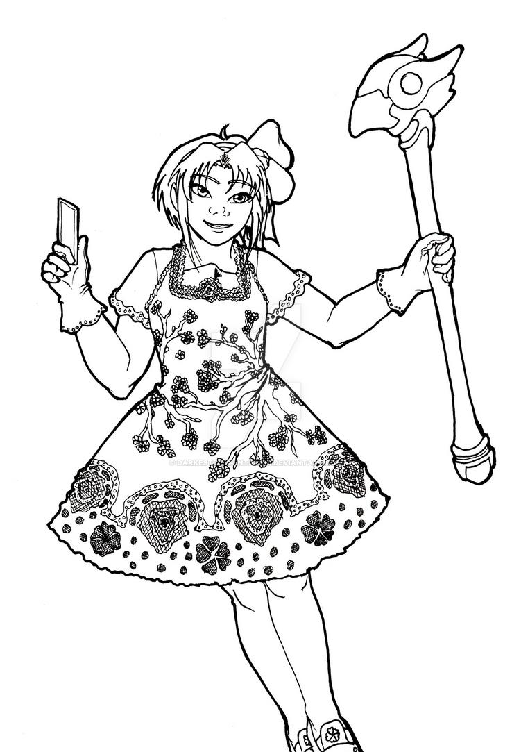 Sakura Kinomoto by DarkestElemental616