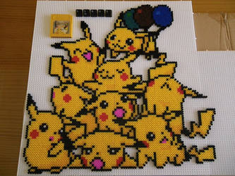 Pile of Pikachus by LinusGale