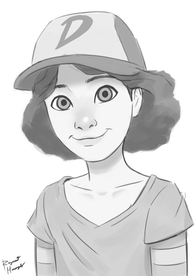 Clementine sketch by Doroman