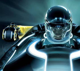 Tron Legacy Mobile by TheObserver26