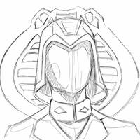 Cobra Commander Quick Sketch  by TheSadisticSamurai