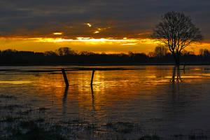 Iced sunrise by chevyhax