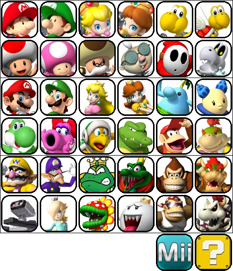 1000+ images about Mario characters on Pinterest