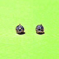 Silver Barnacle Earrings