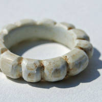 Faux Bone Sectional Ring