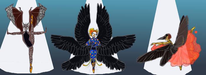 [OPEN OTA] Winged Dancers