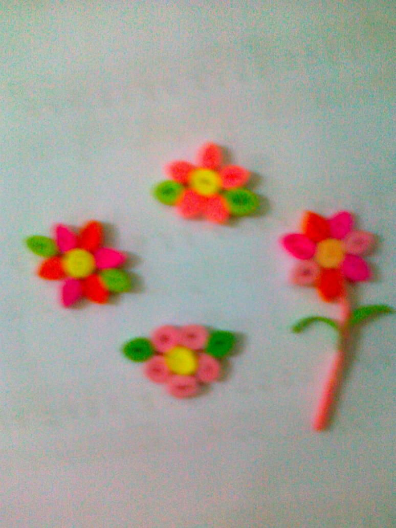 Flower Paper Quilling By Kawaiideb Chan On Deviantart