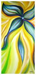 Lines of a Flower 3 by Delfinoui