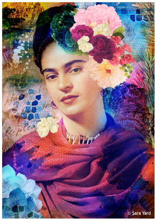 The Paradise of Frida by Delfinoui