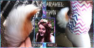 Caramel Fawn Tail~ by avokiss