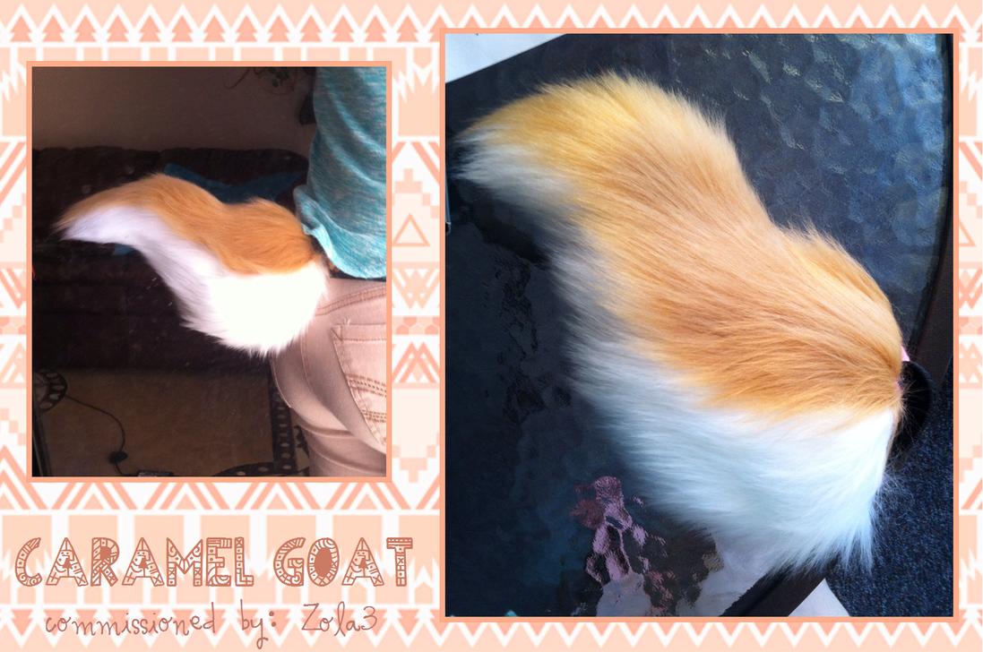 FC- caramel goat by QueenAyria