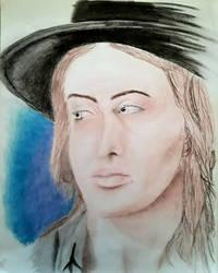 Portrait #7 The Blues