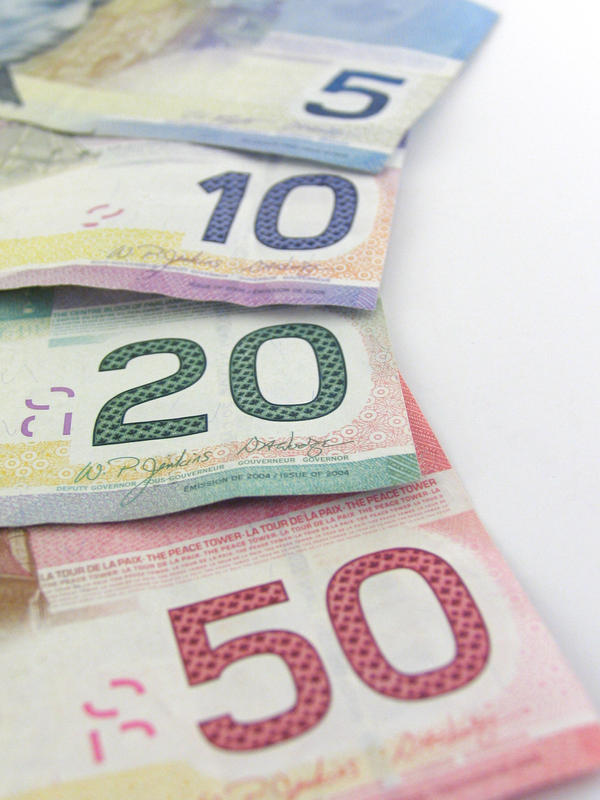 Stock - Canadian Currency 10 by mystockphotos